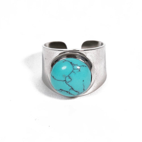 Love Stoned - Turquoise ring, Rings, Tinka the Label