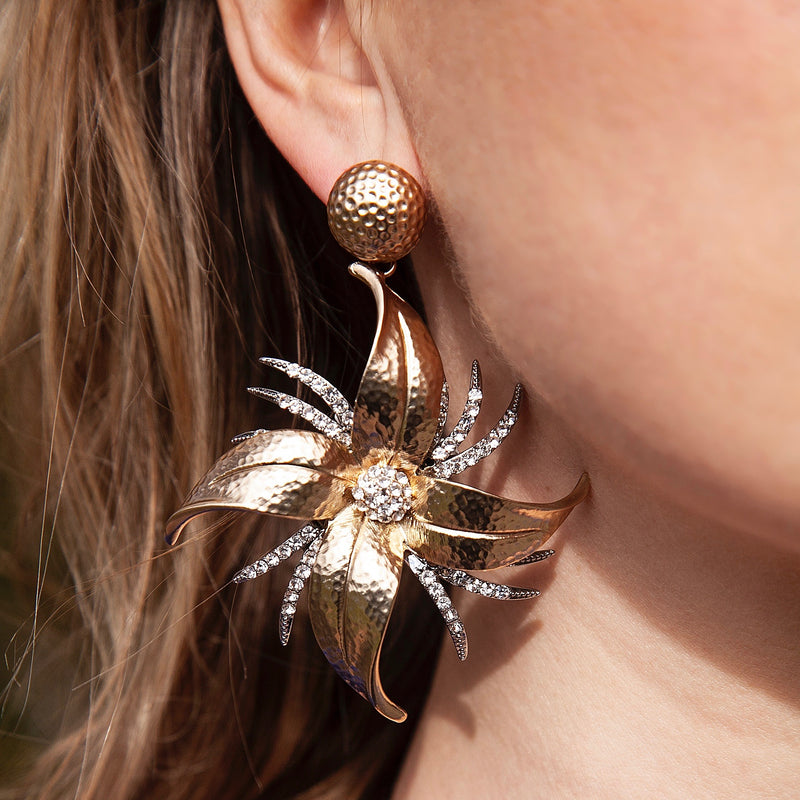 Black Dahlia, Statement Earring, Tinka the Label