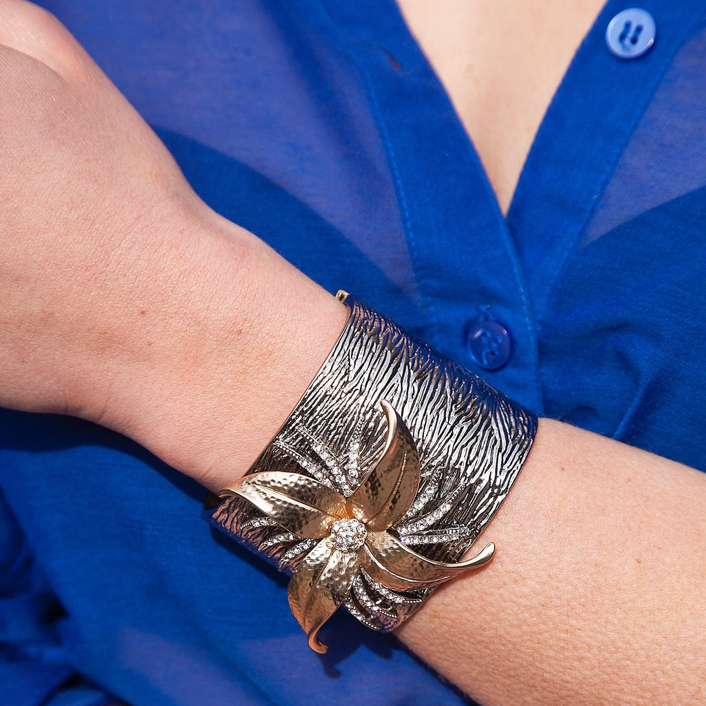 Black Dahlia, Bracelet Cuff, Tinka the Label