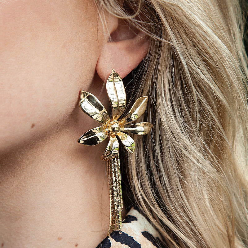 Flora, Statement Earring, Tinka the Label