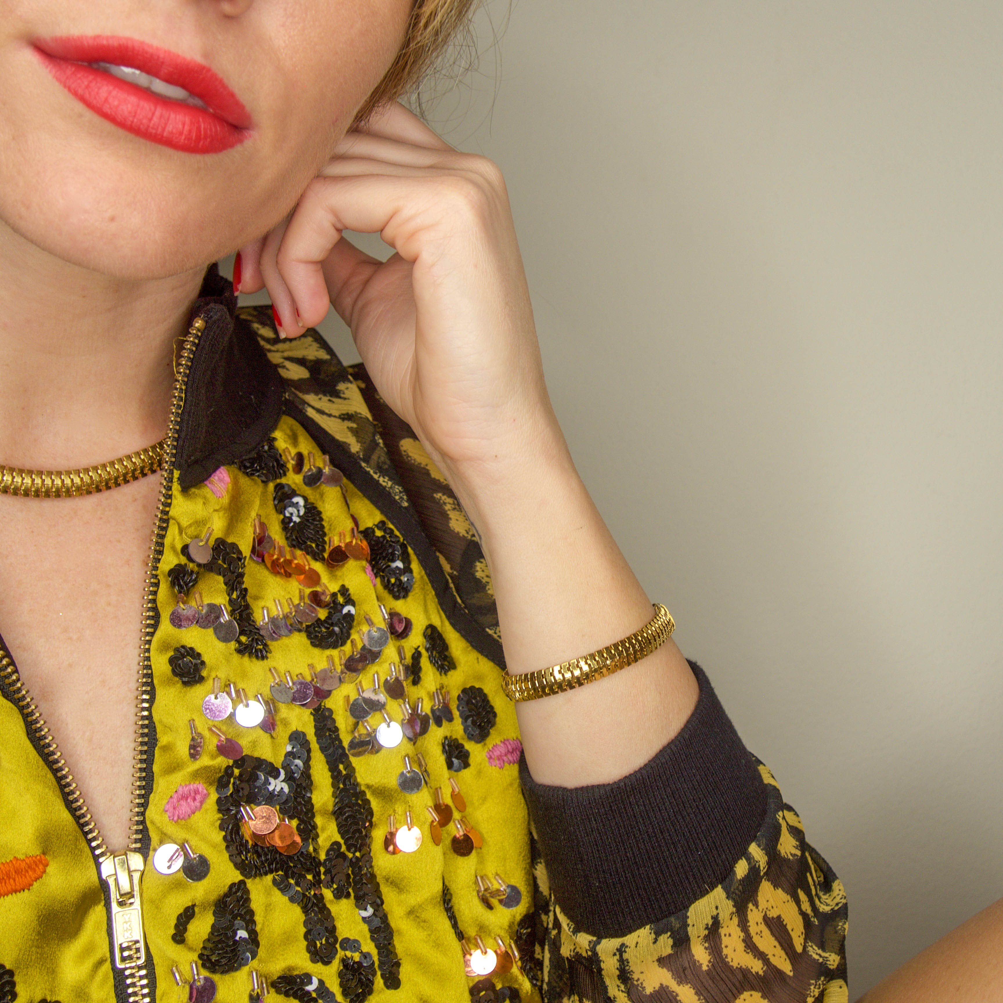 Amber, Choker Necklace, Tinka the Label