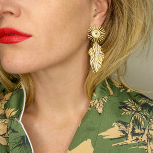 Juniper, earrings, Tinka the Label
