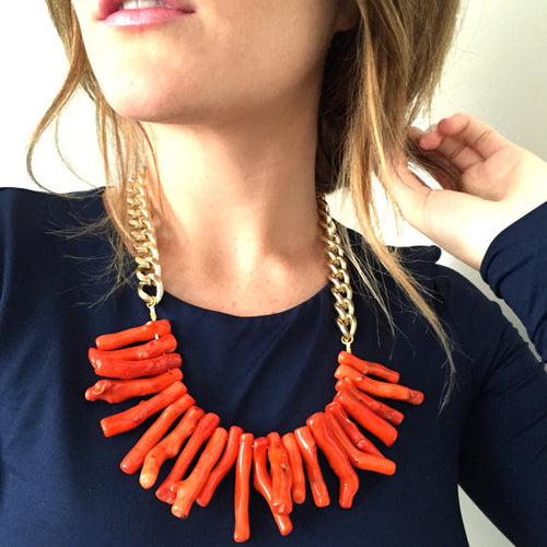 Coral, Necklace, Tinka the Label