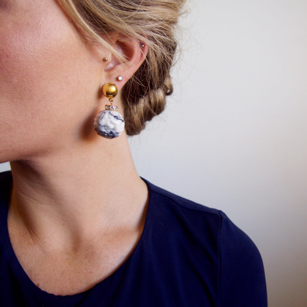 Marble, Earring, Tinka the Label