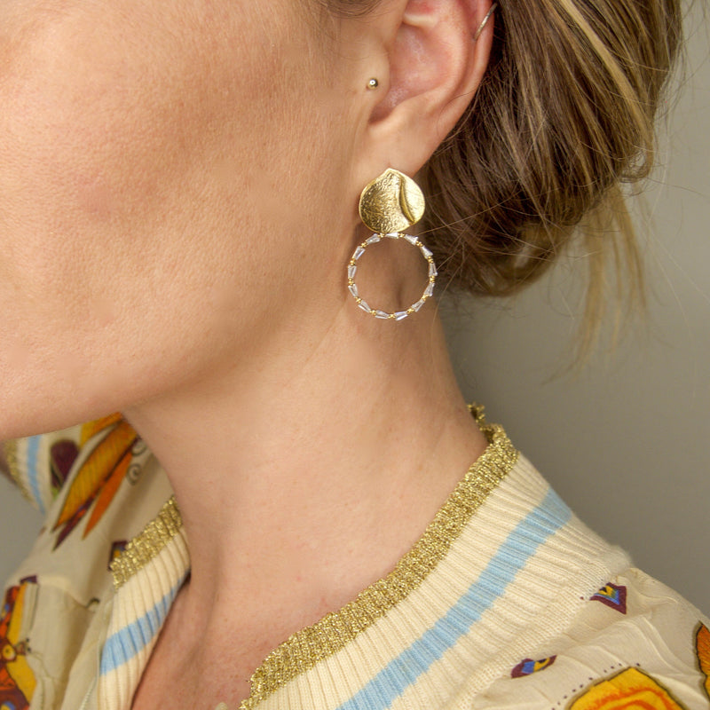 Valerie, earrings, Tinka the Label