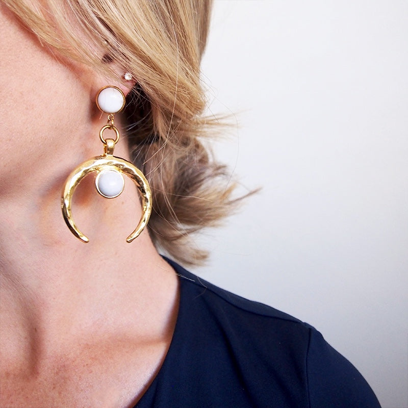 Lunar, Earring, Tinka the Label