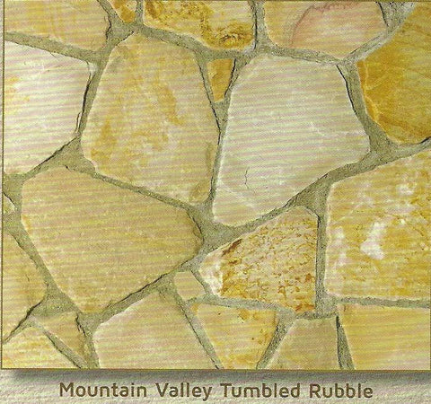Mountain Valley Tumbled Rubble