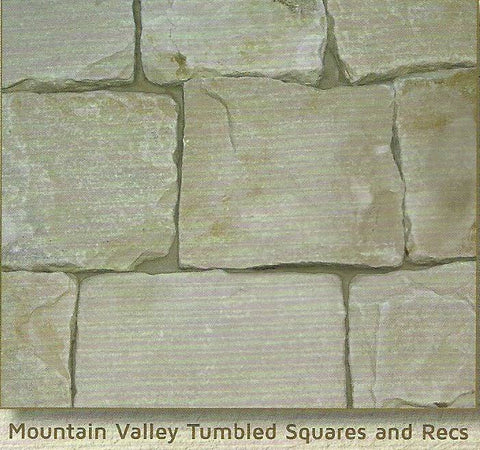 Mountain Valley Tumbled Squares & Recs