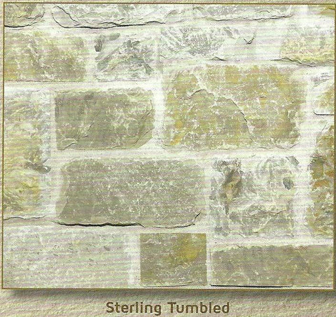 Sterling Tumbled