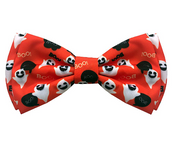 Huxley & Kent Halloween Dog Bow Tie Ghostbusters