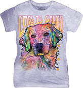 Love is Golden Womens T-Shirt