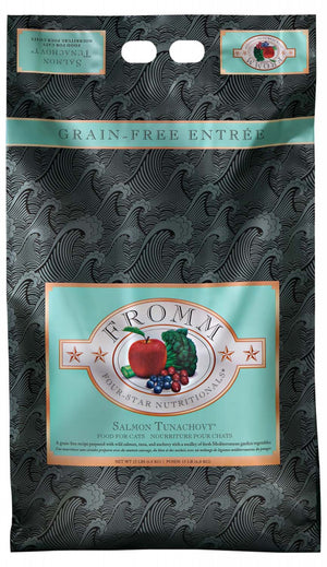 Fromm Salmon Tunachovy Grain Free Cat Food