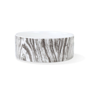 PET SHOP WOOD GRAIN PET BOWL