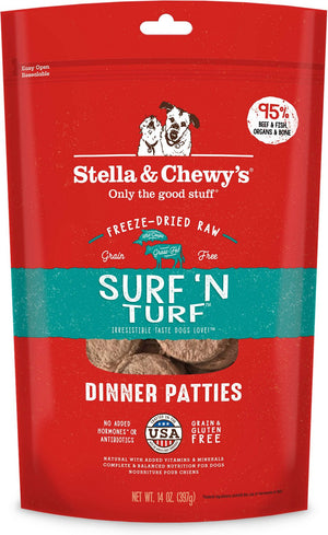 Stella & Chewy's Freeze Dried Surf n' Turf Dog Food
