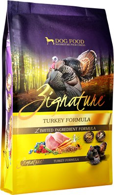Zignature Grain Free Turkey Dry Dog Food