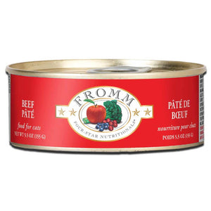 Fromm Beef Pate Canned Cat Food 5.5oz