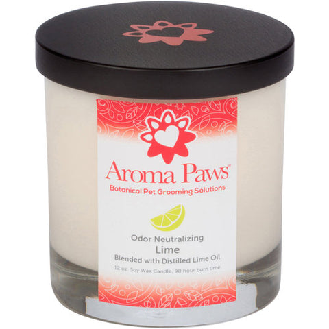Aroma Paw Odor Neutralizing Candle Lime