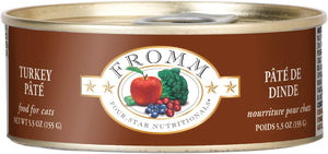 Fromm Turkey Pate Canned Cat Food 5.5oz