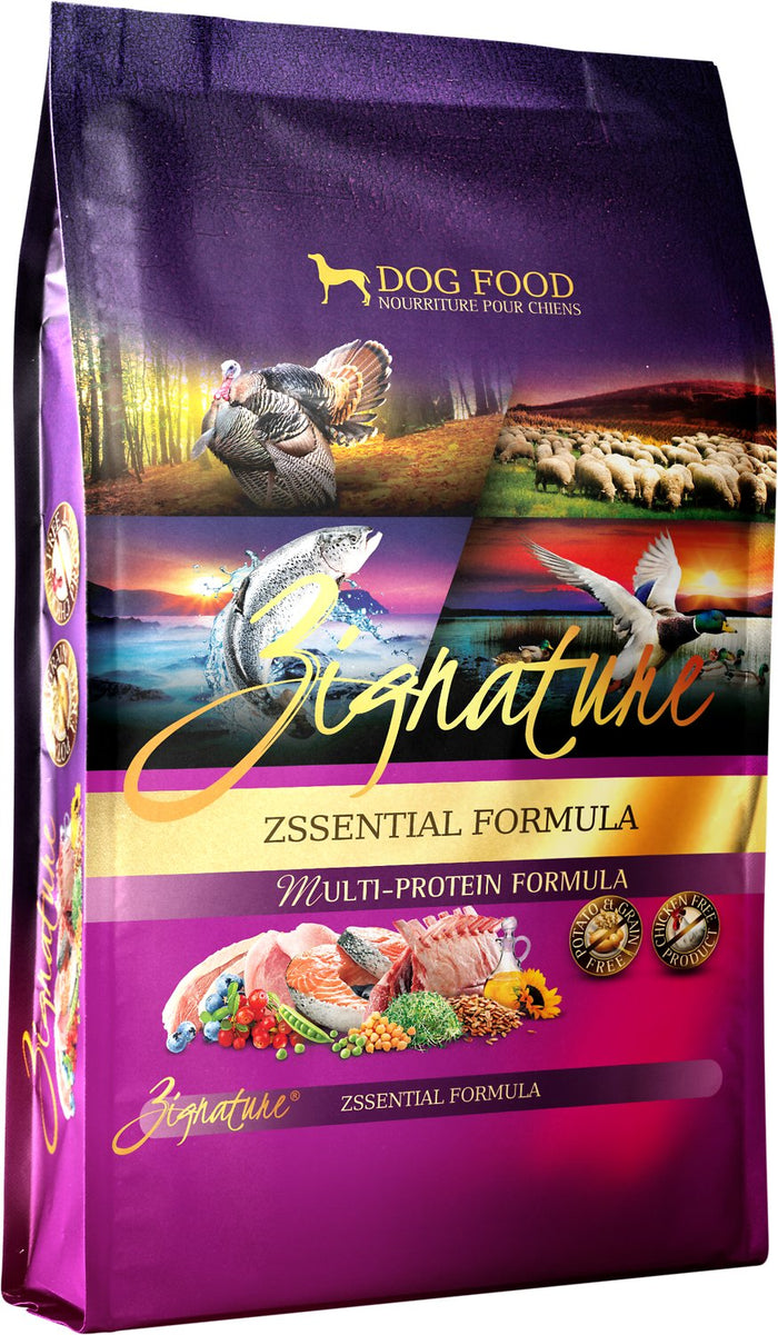 Zignature Grain Free Zssentials Dog Food