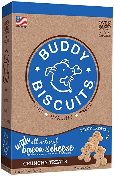 Cloud Star Itty Bitty Buddy Biscuits Bacon & Cheese Treats