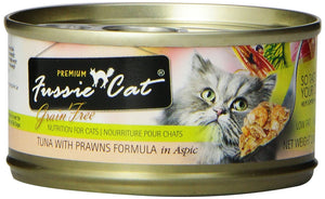 Fussie Cat Tuna and Prawns Canned Food