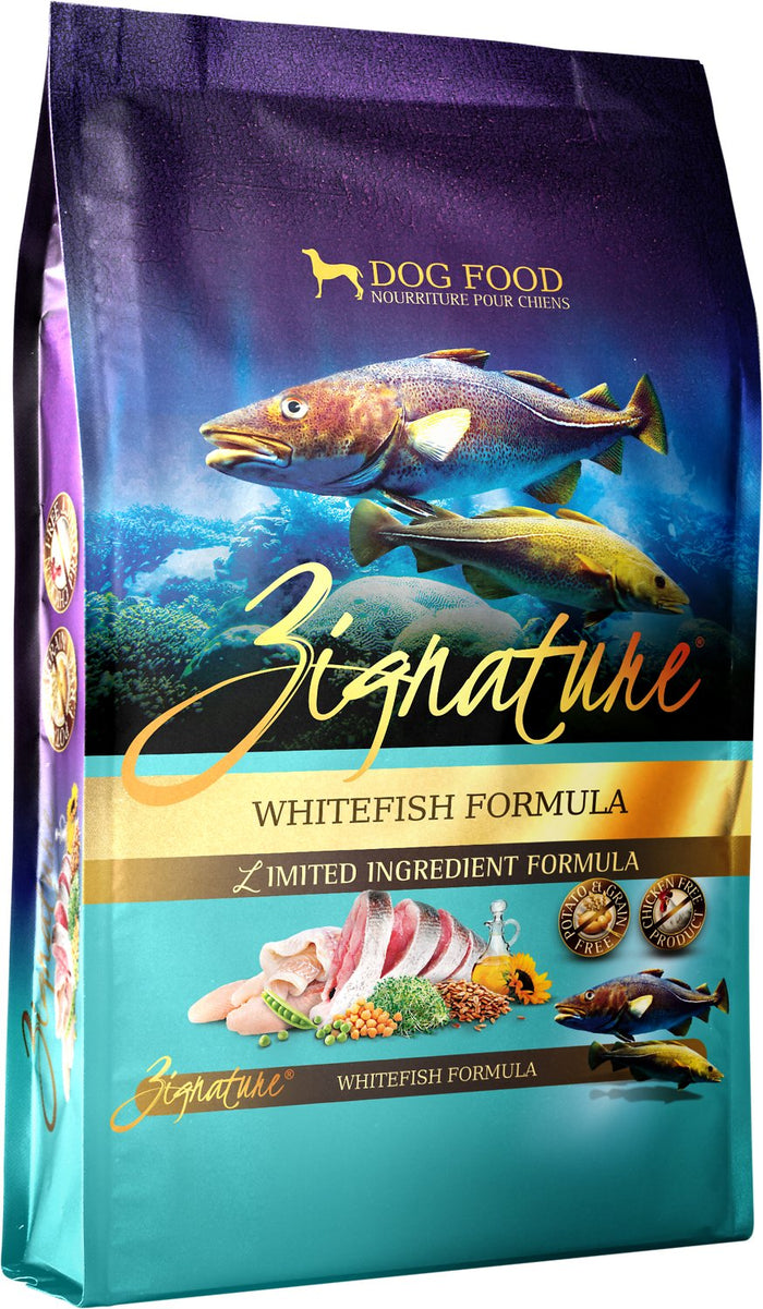 Zignature Grain Free Whitefish Dog Food