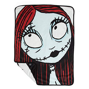 Disney Nightmare Before Christmas Sally and Jack Pet Throw