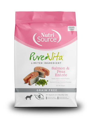 PureVita Salmon Sweet Potato Grain Free Dog Food