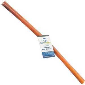 Barkworthies Standard Bully Stick Chew 12""
