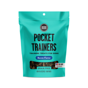 Bixbi Bacon Pocket Trainers Dog Treats