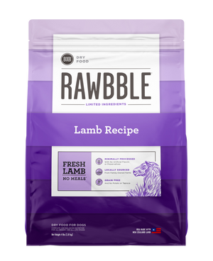 Rawbble Lamb Recipe Dry Dog Food