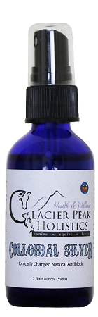 Glacier Peak Holistics Colloidal Silver Spray 2oz