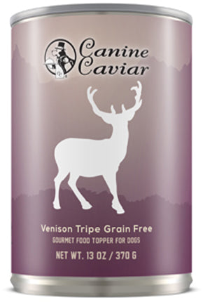 Canine Caviar Venison Dog Food 12.8oz Can