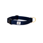 Dog + Bone Snap Collar Navy