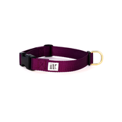 Dog + Bone Snap Collar Purple