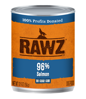Rawz Salmon Dog Food Can 12.5oz