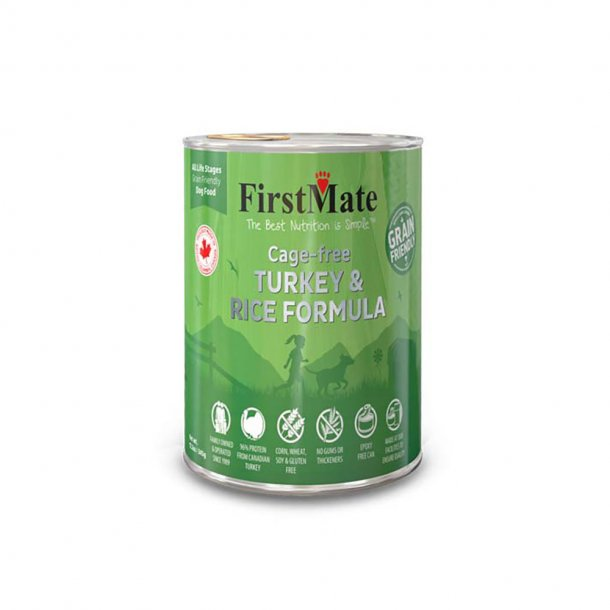 First Mate Limited Ingredient Canned Turkey Dog Food 12.2oz