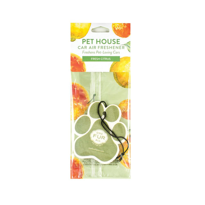 Pet House Fresh Citrus Car Air Freshener