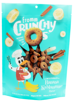 Fromm Crunchy-O's Banana Kablammas Dog Treats