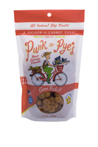 Punk n Pyes Gone Fishing Dog Treats 7oz