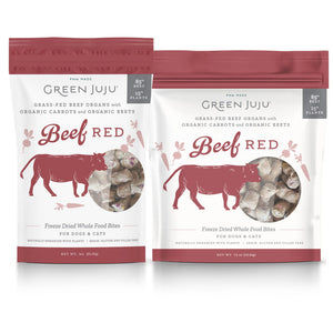 Green Juju Freeze-Dried Beef Whole Food Bites