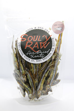 Soul'y Raw Air-Dried Whole Anchovy
