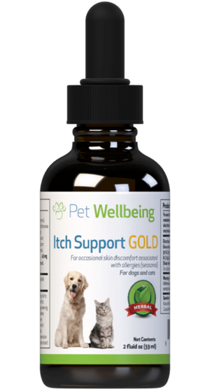 Pet Wellbeing Itch Support Gold Tincture
