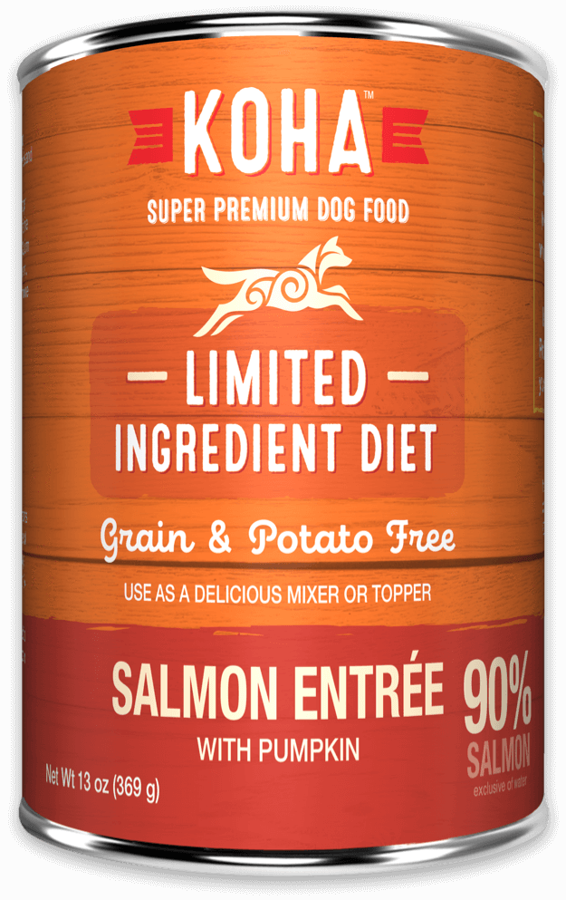 Koha Salmon Entrée Canned Dog Food 13oz