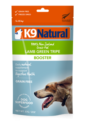 K9 Natural Freeze Dried Lamb Green Tripe 7oz