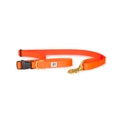 Dog + Bone Adjustable Leash Orange
