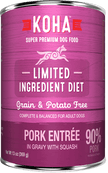 KOHA Pork Entrée Wet Dog Food 13 oz.