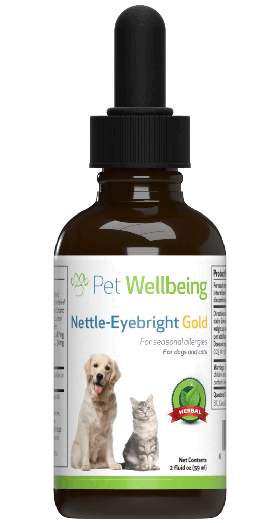 Pet Wellbeing Nettle-Eyebright Gold Allergy Tincture