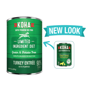 KOHA Turkey Entree Canned Dog Food 13oz