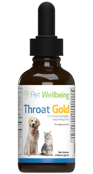 Pet Wellbeing Throat Gold Tincture